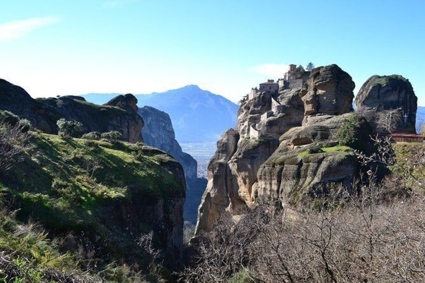 Show item 2 of 3. Full-day private tour to Meteora Monasteries