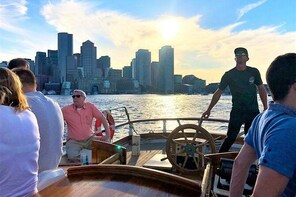 Sunset Sailing Cruise on a Tall Ship in Boston Harbour