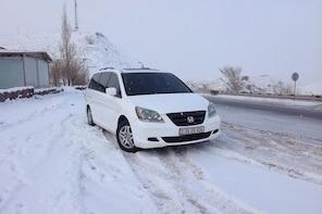 Transfer from Yerevan to Tbilisi with tours