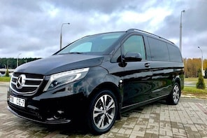 VIP Minibus airport transfer Minsk with Mercedes V-class