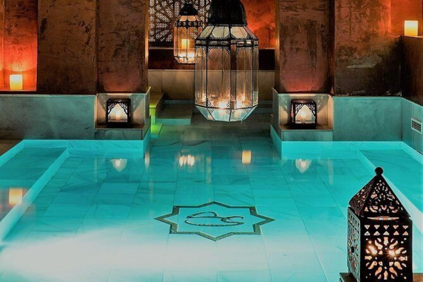 Show item 3 of 10. Skip the Line: AIRE Ancient Baths Sevilla Thermal Baths Admission Ticket