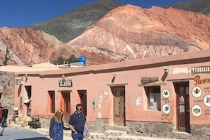 Excursion to Humahuaca & Purmamarca with 7-color Hill, from Salta