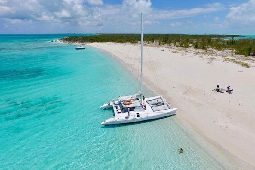 Catamaran Sail and Snorkel Tour from Providenciales