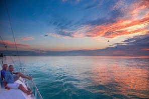 Private Sunset Catamaran Sailing Charter