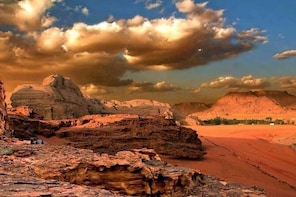 From Petra to Wadi Rum Then Amman City or Airport