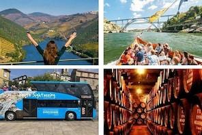 Douro Valley Tour & Hop-off Hop-On Porto & Douro River Cruise & Cellars Vis...