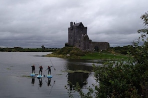Stand Up Paddle Boarding Adventures in Kinvara bay & the Turloughs of the B...
