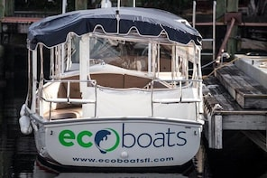 21' Electric Boat Hire in Ft. Lauderdale