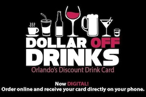 Dollar Off Drinks Card: Orlando