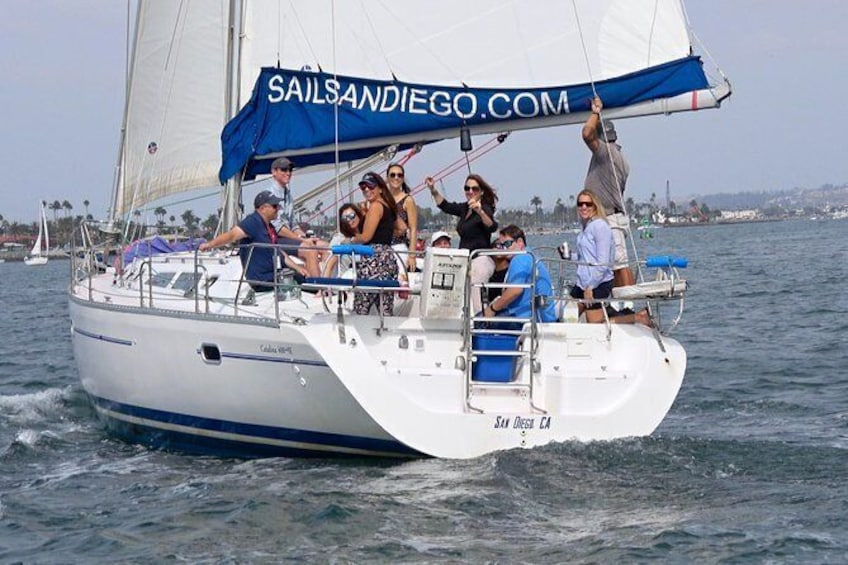 Show item 8 of 8. Sunset Sailing Tours in San Diego