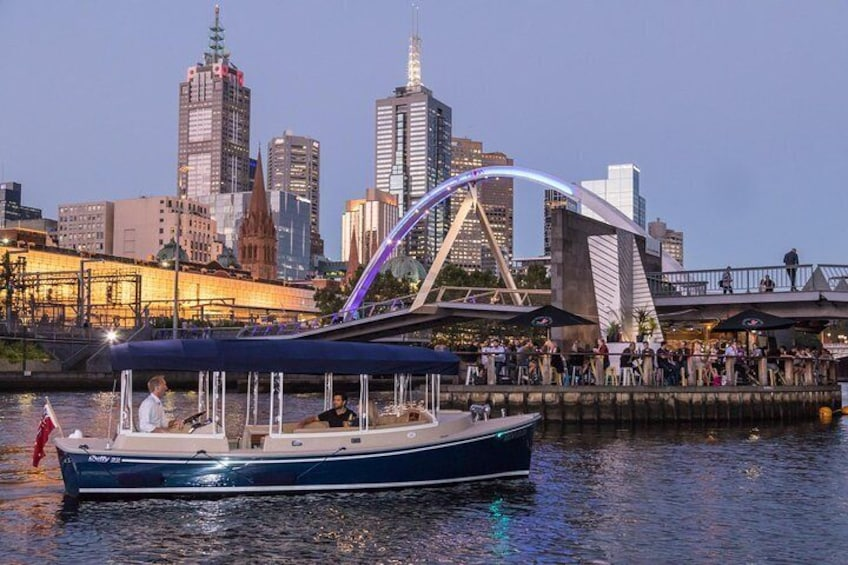 Luxury Private 90min Wine and Cheese Yarra River Cruise