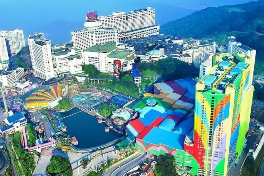 Show item 1 of 10. Genting Highland & Batu Caves Day Trip Include 2-Way Cable Car Ride