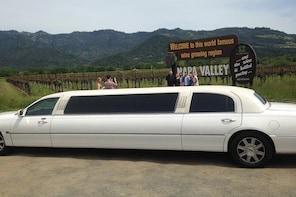 Luxor Coach provide transpotation for Napa wine tour, city tour as San Fran...