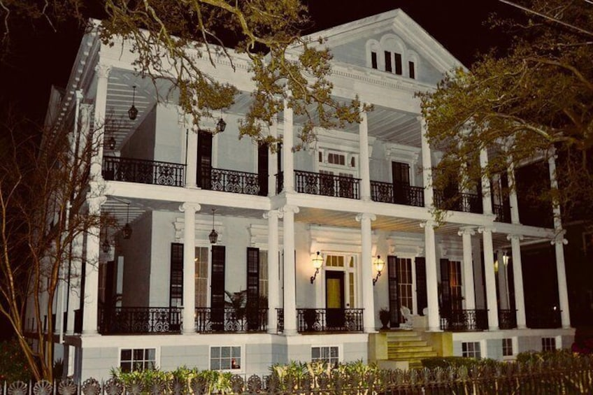 """The Buckner Mansion, also known as """"Miss Robichaux's Academy for Exceptional Young Ladies""""  from AMERICAN HORROR STORY."""