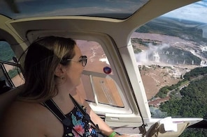 Helicopter Sightseeing Tour Over Foz do Iguacu Waterfalls