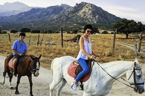 Horse Riding and Tapas Picnic Madrid