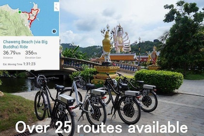 Chaweng Bike Ride (Via Big Buddha) Koh Samui