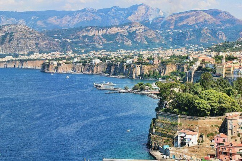 Show item 1 of 6. Sorrento and Amalfi Coast Independent Day Trip from Naples