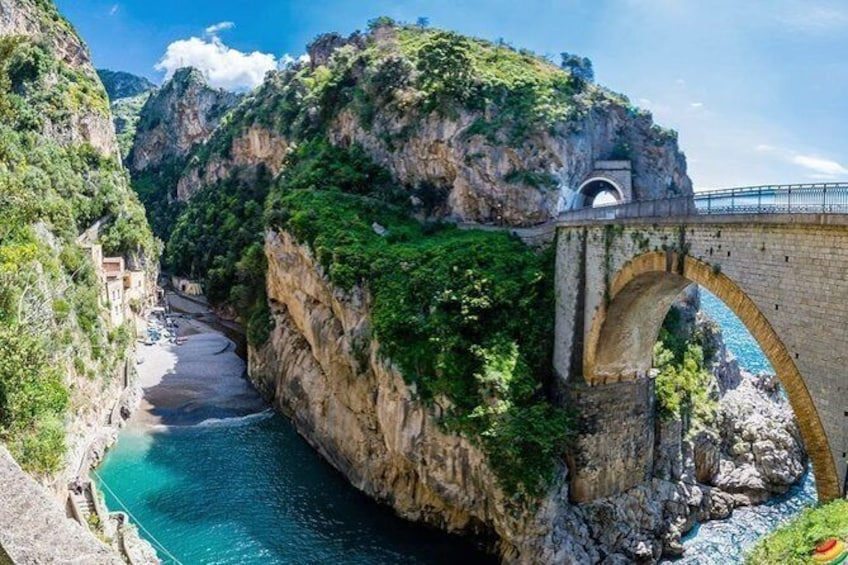 Show item 2 of 6. Sorrento and Amalfi Coast Independent Day Trip from Naples