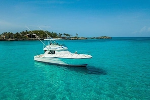 Private Half-Day Fishing Charter in Nassau 48ft