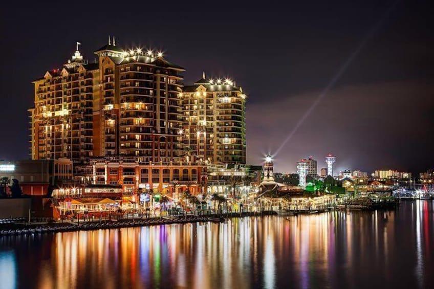 Show item 1 of 5. Harbor Lights Tiki Cruise