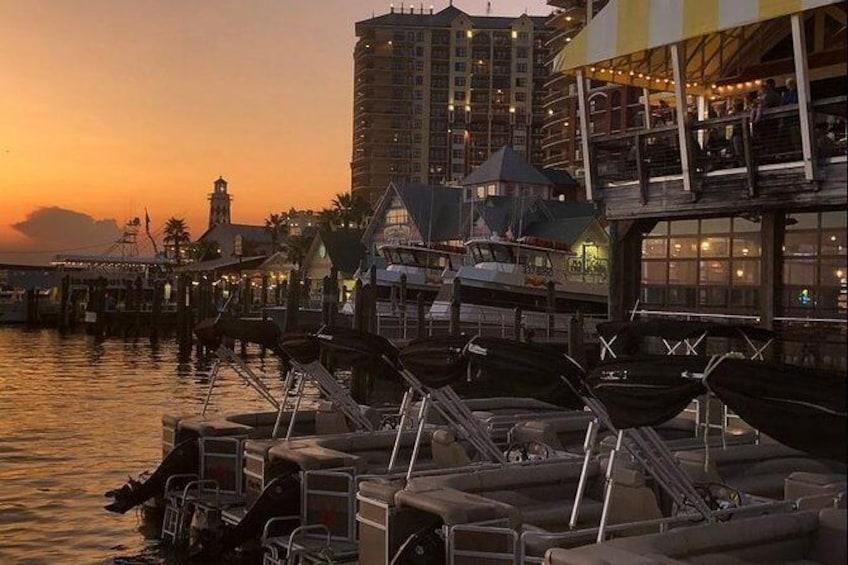 Show item 4 of 5. Harbor Lights Tiki Cruise