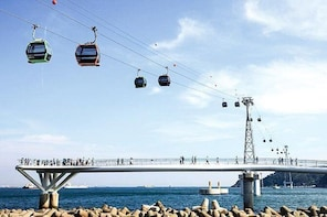 Busan : Air Cruise cable car, Taejongdae, and Gamcheon Village by private v...