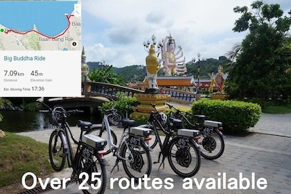Big Buddha Half day Bicycle Ride Koh Samui