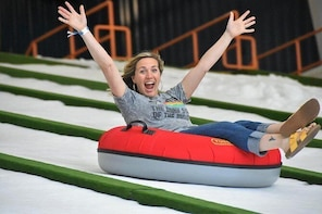 Pigeon Forge Snow: Indoor Snow Tubing Admission