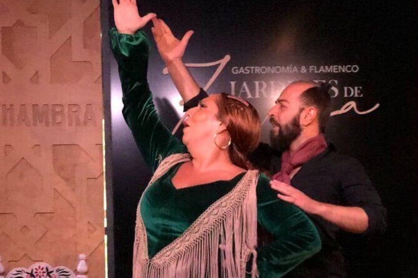 Show item 3 of 6. Skip the Line: Flamenco Show Ticket at Jardines de Zoraya, Granada