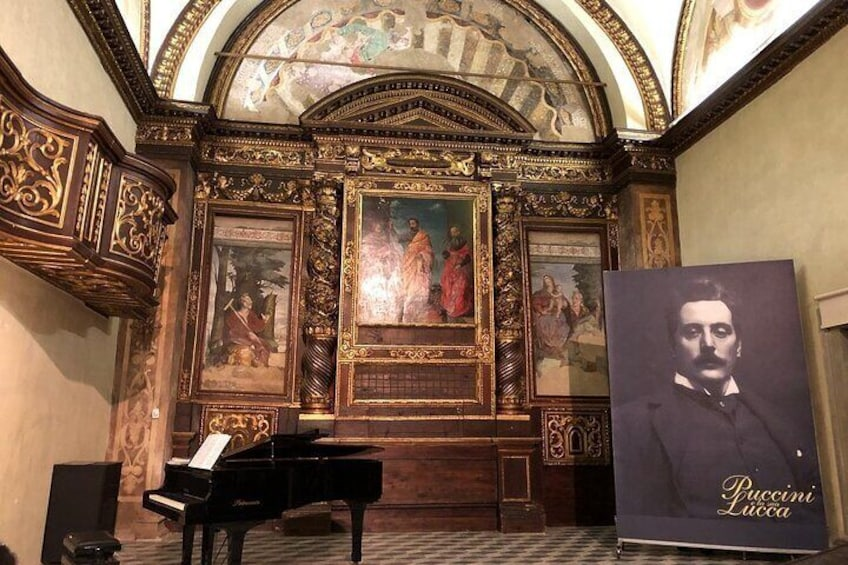 Show item 5 of 8. Puccini Experience Entrance Ticket - due to COVID19,concerts are suspended