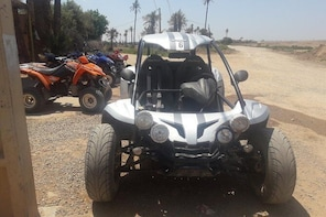 A half day Buggy driving tour in Marrakech Palm groove and villages