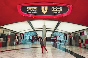 Ferrari World Entrance Ticket with Transfer from Dubai