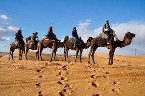 From Marrakech To Fes Through The Desert Of Merzouga: Shared
