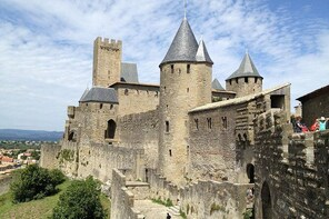 Day Trip to Carcassonne Cite Medievale and Comtale Castle Tour from Toulous...
