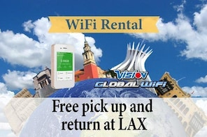 4G LTE Pocket WiFi Rental, in Dominican Republic - pick up at LAX