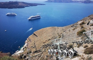 Santorini Cable Car Admission Ticket (One Way)