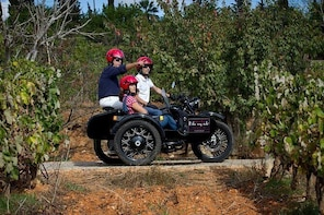 Private Tour: Algarve Wine and Tapas Tour by Sidecar Motorcycle from Portim...