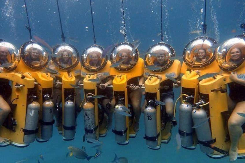 Show item 4 of 6. Oahu Submarine Scooter Adventure