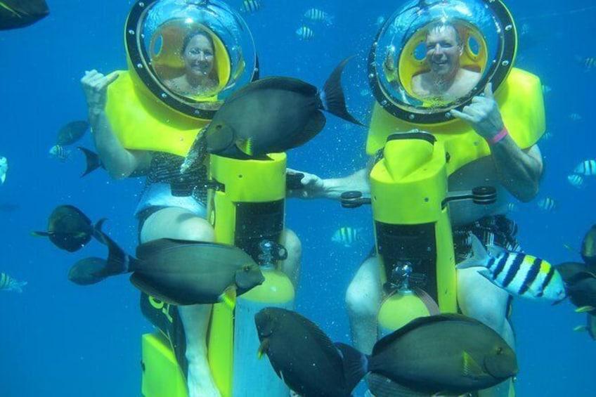 Show item 3 of 6. Oahu Submarine Scooter Adventure