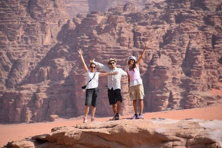 Show item 1 of 8. 2-Day Petra, Wadi Rum and Dead Sea Tour from Amman
