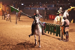 Valltordera Castle Medieval Tournament and Flamenco Show with Optional Dinn...
