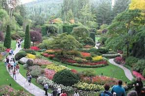Fully narrated tour of Butchart Gardens and Saanich Peninsula