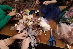 Girl's Fascinator Workshop at Manhattan Hat Shop