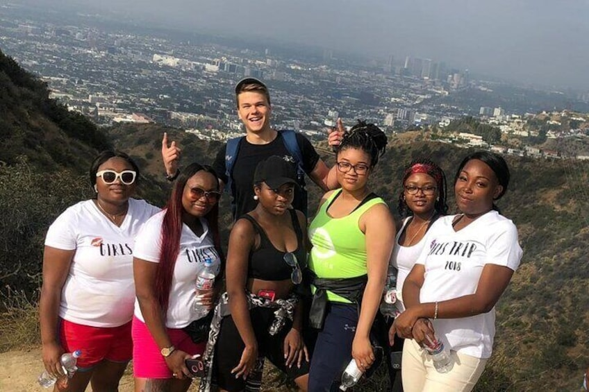 OUTDOOR HIKE TOUR LOS ANGELES