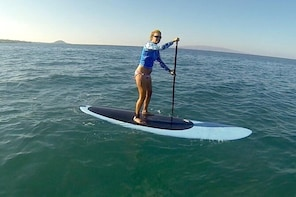 Group Standup Paddleboard Lesson for Beginners in Kihei