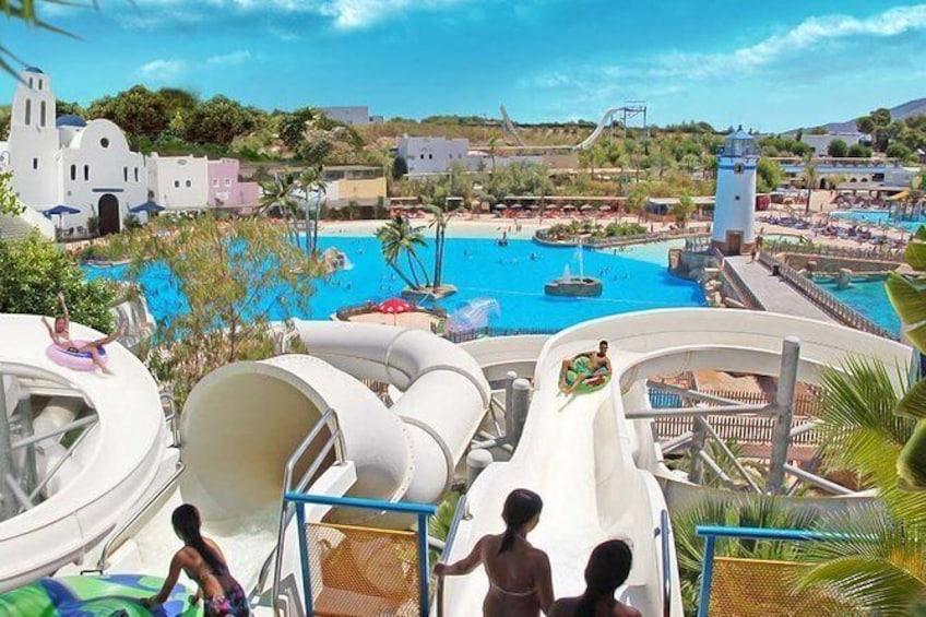 Skip the Line: Full-Day Aqua Natura Water Park Admission Ticket in Benidorm