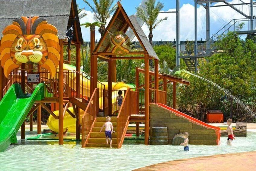 Skip the Line: Aqua Natura Water Park Admission Ticket in Benidorm