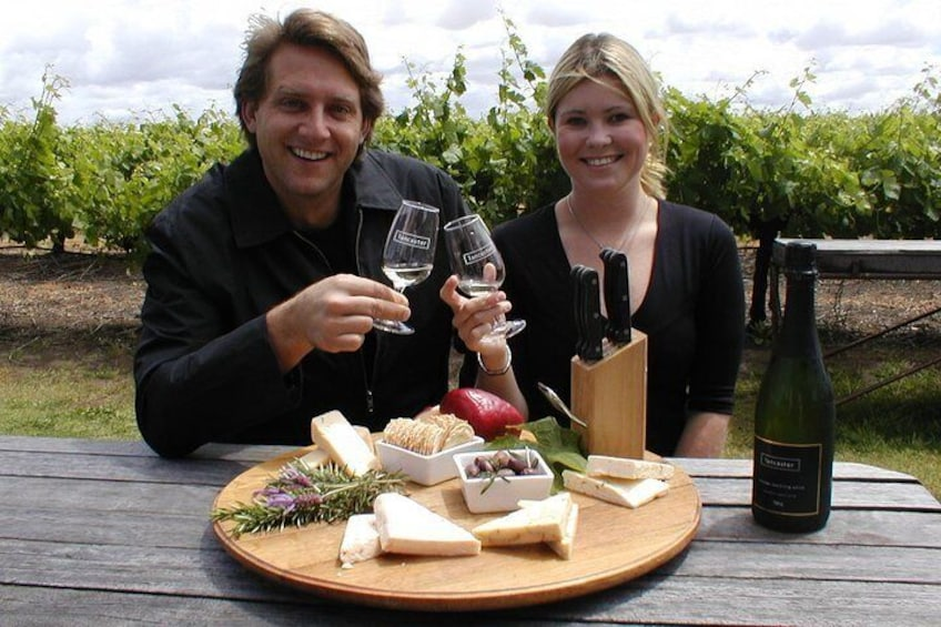 More cheese and wine at Lancaster