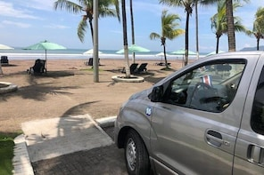 San Jose Airport to Jaco Beach Transportation - Private Service